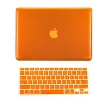 "2in1 ORANGE Crystal Case for NEW Macbook Pro15"" A1398 /Retina display+ Key Cover"