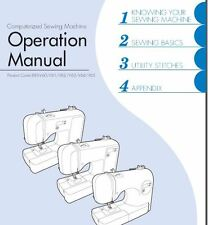 Brother CS 5055PRW Sewing Machine Instruction Manual Users Guide PDF on CD