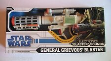 Star Wars General Grievous' Blaster Rifle Electronic in BOX TESTED WORKS Cosplay