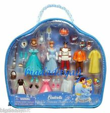 New Disney World Parks Princess Cinderella Deluxe Polly Pocket Fashion Set