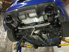 Exoticspeed R1-T Exhaust Scion FRS/GT86 /BRZ 2013-On 70MM PIPE,100MM TIPS SUS+TI