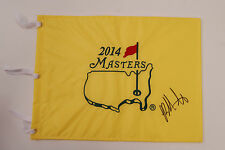 Bubba WATSON SIGNED AUTOGRAPH AFTAL COA 2014 Golf Flag Masters Winner Augusta