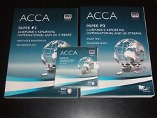 ACCA Paper P2 - 2 books + CD - CORPORATE REPORTING - BPP Learning Media 2012 NEW