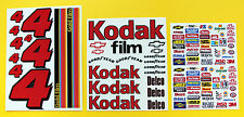 RC Nascar 'KODAK' Decals Stickers Tamiya Xray TC5 Kyosho