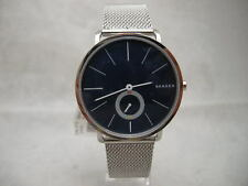 Authentic Skagen Hagen SKW6230 Blue Dial Mesh Bracelet Men's Watch