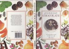Quick and Easy Chocolate, Gina Steer,70 imaginative recipes for the busy cook HB