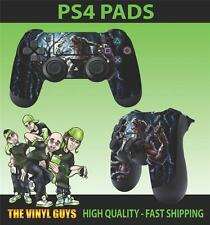 PS4 PLAYSTATION 4 CONTROLLER PAD STICKER WEREWOLF MOON SUPERNATURAL SKINS X 2
