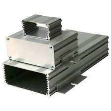 Silver Extruded Aluminium Enclosure Accept PCB 55x80mm 80x64x30 Case Box Project