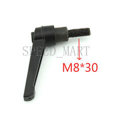 Machinery M8 x 30mm Threaded Knob Adjustable Handle Clamping Lever