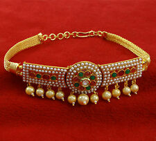 Goldplated Wedding Armband Jewelry Traditional Upper Arm Bracelet Bajubandh