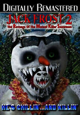 JACK FROST 2: REVENGE OF THE MUTANT KILLER SNOWMAN - DVD - Region Free - Sealed