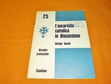 l'eucarestia cattolica in discussione opuscolo claudiana 1969