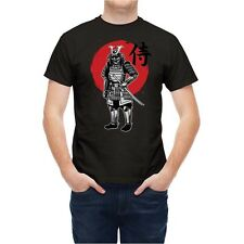 Tshirt Japanese Samurai Fighter With Armor T2629W