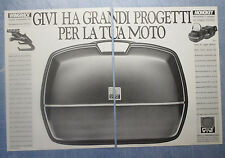 MOTOSPRINT988-PUBBLICITA'/ADVERTISING-1988- WINGRACK by GIVI