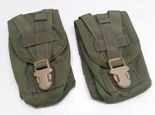 (2) Eagle Industries DFLCS Olive Drab Canteen/Utility Pouch OD DF-LCS MOLLE