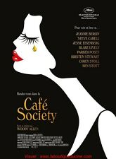 CAFE SOCIETY Affiche Cinéma / Movie Poster 160x120 WOODY ALLEN