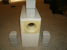 Bose Acoustimass 7 System - White - Works Great !!