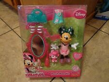 2013 MATTEL--DISNEY'S MINNIE MOUSE--POSH POODLE FIGURE SET (NEW)