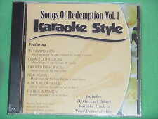 Songs of Redemption~#1~Christian Daywind Karaoke Style ~ Come to the Cross ~CD+G
