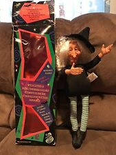 "Tilda No Broom ready to dress 16"" Witch Doll 1994 Fibre Craft New Open Box"