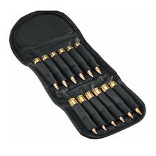 Mizugiwa Black Elastic Butt Stock Rifle Shell Holder - 12 Cartridges Ammo Bullet