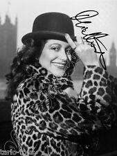 MIA MARTINI - print signed photo - foto con autografo stampato