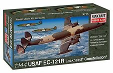 "Minicraft C-121R USAF Viet Nam ""Batcat"" Model Kit 1/144 Scale"