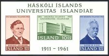 Iceland 1961 People/University/Buildings/Architecture/Education impf m/s n40345