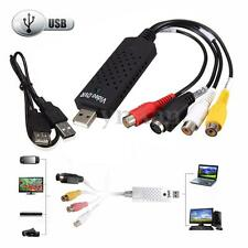 USB VHS to DVD Video Audio Capture Converter Card Adapter for Windows Win 10/7/8