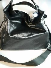 Furla Nylon Elisabeth Hobo/crossbody Black Tote Bag