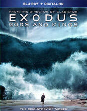Exodus: Gods and Kings (Blu-ray Disc, 2015, Includes Digital Copy) NEW