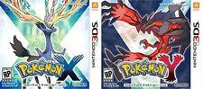 Nintendo 3DS Pokémon Pokemon X + Y - MAI GIOCATI, COME NUOVI, IN ITALIANO.