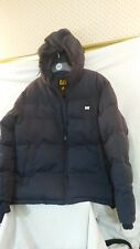 Caterpillar CAT Men's Hooded Padded Jacket. Size M. Navy Blue. New. RRP £69.99