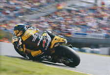 Thomas LUTHI SIGNED MotoGP INTERWETTEN Race Autograph 12x8 Photo AFTAL COA