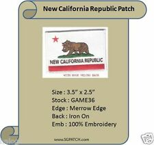 NEW CALIFORNIA REPUBLIC FLAG - FALLOUT PATCH - GAME36