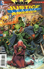 Justice League Of America #6 (NM)`13 Johns/ Lemire/ Mahnke