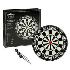 JACK DANIELS DARTBOARD & DARTS Chalk & Cleaning Cloth Man Cave Den Pool Room