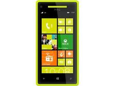 HTC Windows Phone 8X Yellow 3G 4G LTE 8GB Unlocked GSM Windows 8 OS Cell Phone