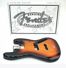 FENDER JAZZ BASS BODY (VINTAGE BRIDGE) - BROWN SUNBURST 099-8008-732 4lbs, 10ozs