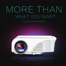 S320 3000Lumens Home Cinema Theater 5000:1 Mini LED LCD Projector 1080P HD AV SD