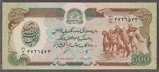Afghanistan 500 Afghanis 1991 unc