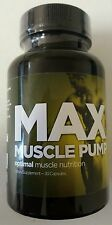 Max Muscle Pump Optimal Muscle Nutrition 30 Capsules