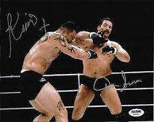 Dan Severn & Kimo Leopoldo Signed Pride FC 1 8x10 Photo PSA/DNA COA Picture UFC