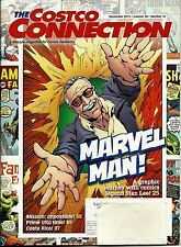 Costco Connection Magazine December 2015 - Marvel Comics Stan Lee Interview