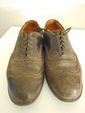 Brown Leather Timberland Waterproof Wingtips 96090 Size 10 M Full Brogues