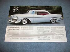 "1956 Chevy 210 Hardtop RestoMod Article ""'56 210"""