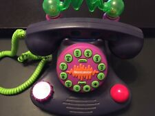 Vintage Collectible 1987 Nickelodeon Talk Blaster Telephone