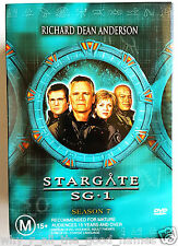 STARGATE SG-1 Complete Seventh Season 7 - 6 DVD Box Set - Excellent Used