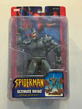 Spider-Man Ultimate Rhino Smash 'N Crush Figure New Excellent Toy Biz 2004