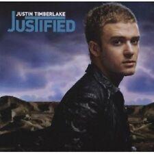 """JUSTIN TIMBERLAKE """"JUSTIFIED"""" CD NEUWARE"""